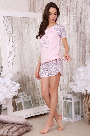 Пижама 40001 (N) (Розовый) - Злата