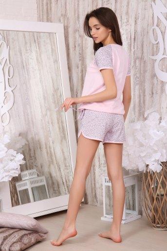 Пижама 40001 (N) (Розовый) (Фото 2)