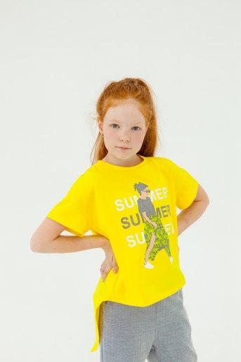 Футболка 1471 (N) (Желтый) - Злата