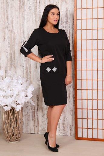 Платье 31507 (N) (Черный) - Злата
