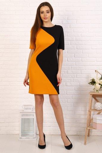 Платье 10377 (N) (Горчица) - Злата