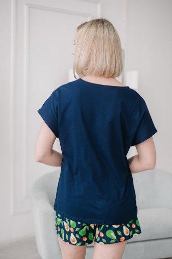 Женская пижама ЖП 022/5 (T) (Принт авокадо в очках) (Фото 2)