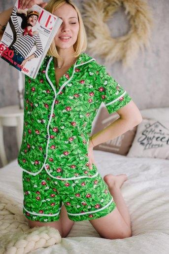 Женская пижама ЖП 060 (T) (Принт божья коровка) - Злата