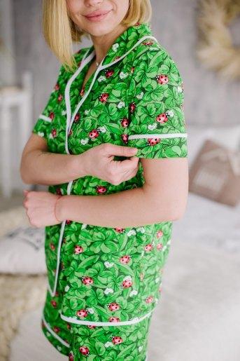 Женская пижама ЖП 060 (T) (Принт божья коровка) (Фото 2)