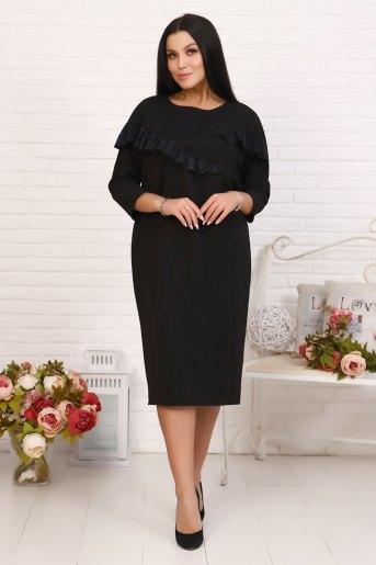 Платье 10379 (N) (Черный) - Злата