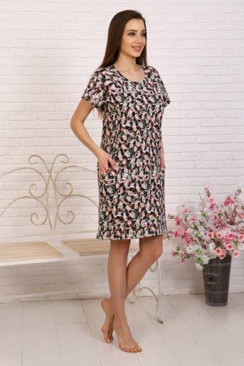 Платье 12888 (N) (Коричневый) (Фото 2)