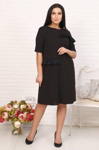 Платье 10380 (N) (Черный) - Злата