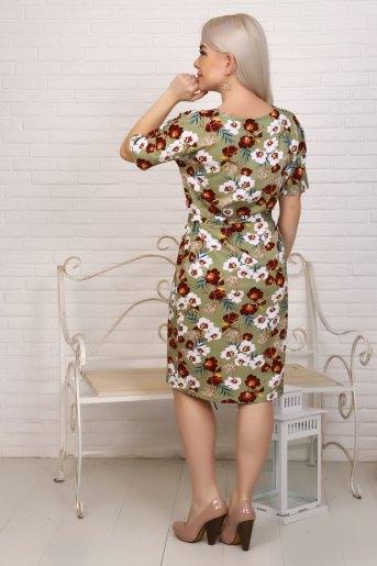 Платье 6929 (N) (Хаки) (Фото 2)