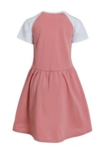 Платье Илария детское (N) (Сухая роза) (Фото 2)
