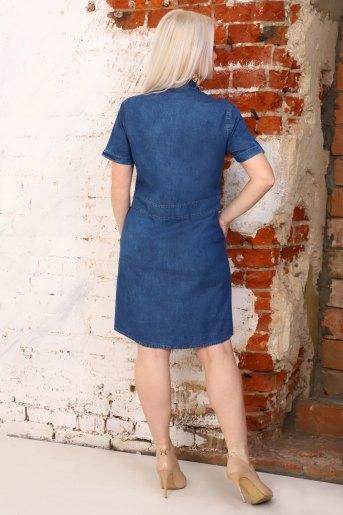 Платье 6952 (N) (Синий) (Фото 2)
