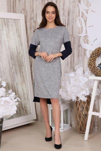 Платье 31004 (N) (Серый) - Злата