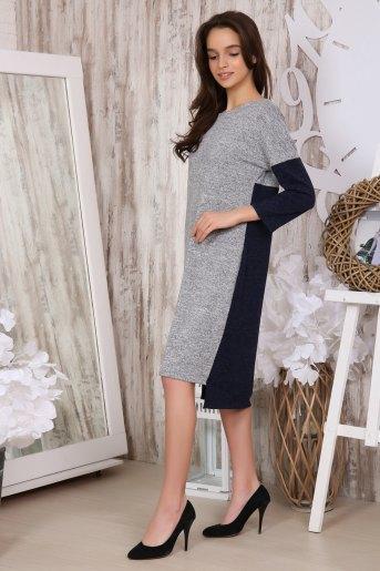 Платье 31004 (N) (Серый) (Фото 2)