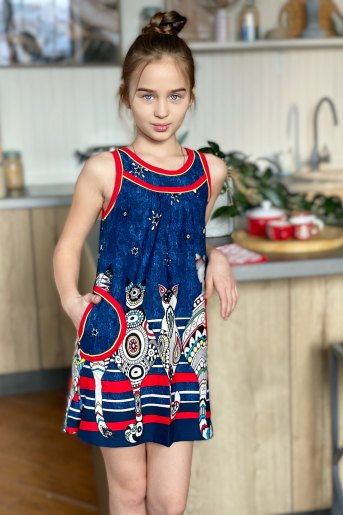 Платье 5085 детское (N) - Злата