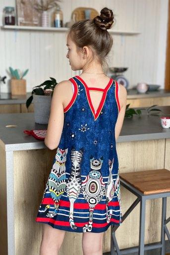 Платье 5085 детское (N) (Фото 2)