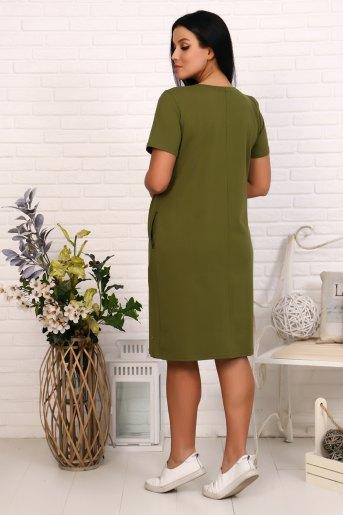 Платье 19004 (N) (Хаки) (Фото 2)