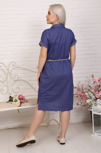 Платье 4855 (N) (Полоса) (Фото 2)
