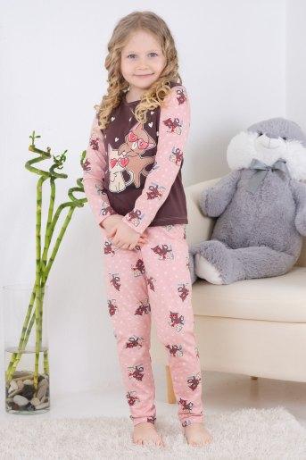 Пижама 10838 детская (N) (Какао) - Злата