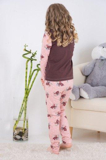 Пижама 10838 детская (N) (Какао) (Фото 2)