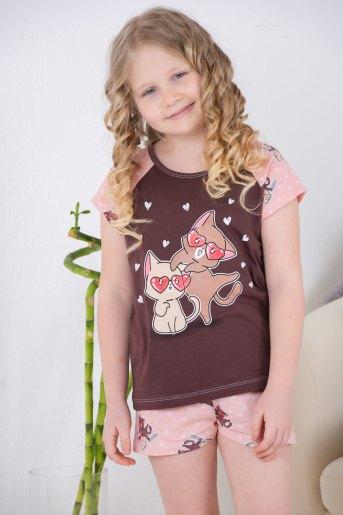 Пижама 10839 детская (N) (Какао) - Злата