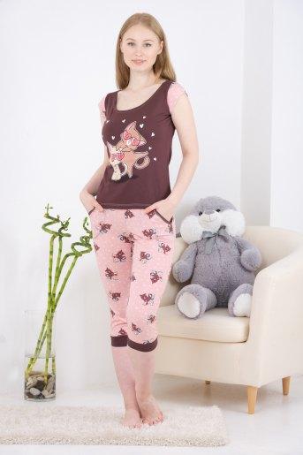 Пижама 10835 (N) (Какао) - Злата