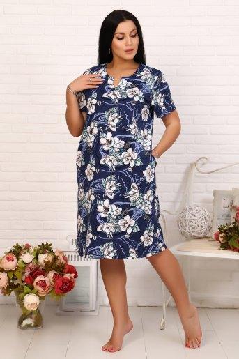 Платье 11554 (N) (Индиго) (Фото 2)