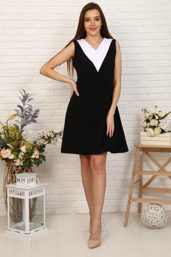 Платье 10386 (N) (Черный) - Злата