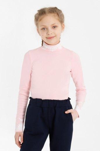 Водолазка Школа-3 детская (N) (Розовый) - Злата