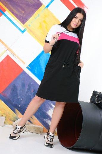 Платье 13418 (N) (Черный) - Злата