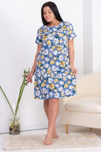 Платье 10550 (N) (Цветы) - Злата