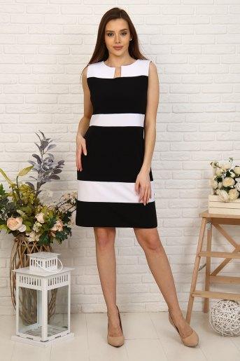 Платье 10385 (N) (Черный) - Злата