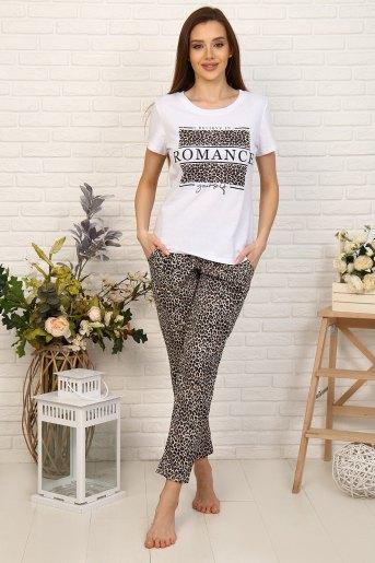Пижама 33503 (N) (Леопард) - Злата