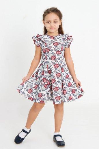 Платье Розолина детское (N) (Молочный) - Злата