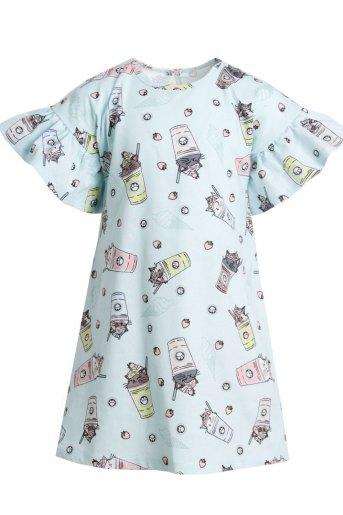Платье Верона детское (N) (Голубой) (Фото 2)