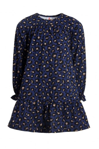 Платье Кузина детское (N) (Темно-синий) (Фото 2)