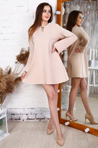 Платье 25168 (N) (Кремовый) - Злата