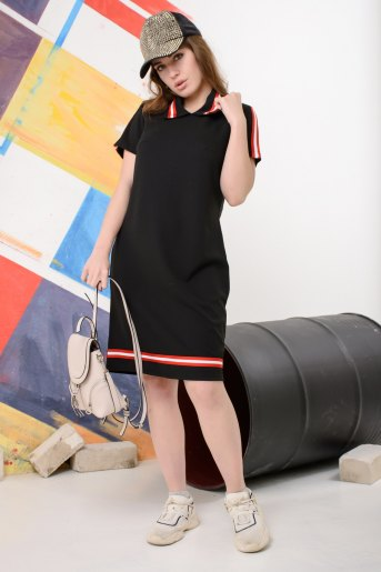 Платье 13440 (N) (Черный) - Злата