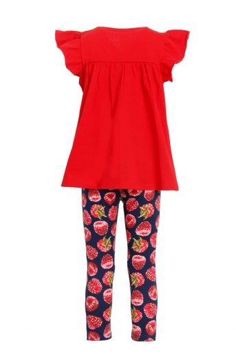 Костюм Полянка детский (N) (Красный) (Фото 2)