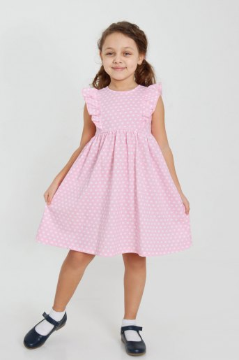 Платье Кружок детское (N) - Злата