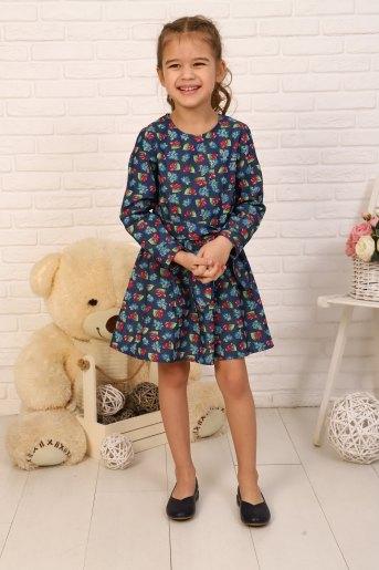 Платье Дженнифер детское (N) (Вишня) - Злата