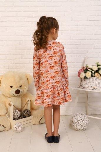Платье Бутон детское (N) (Персик) (Фото 2)