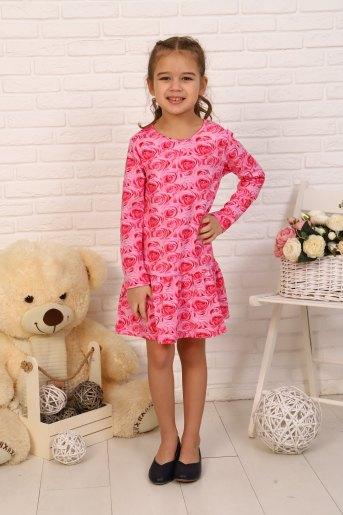Платье Аромат детское (N) (Розовый) - Злата