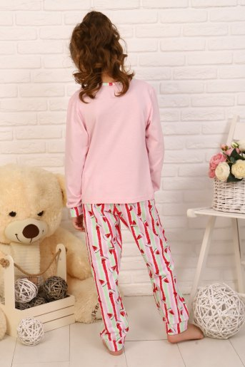 Пижама Вкусняшка детская (N) (Розовый) (Фото 2)