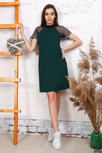 Платье 25170 (N) (Темно-зеленый) - Злата
