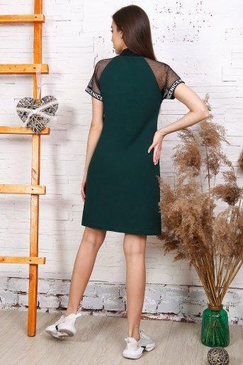 Платье 25170 (N) (Темно-зеленый) (Фото 2)