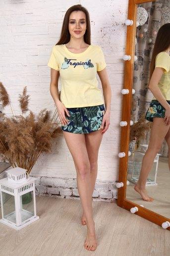 Пижама 30507 (N) (Желтый) - Злата