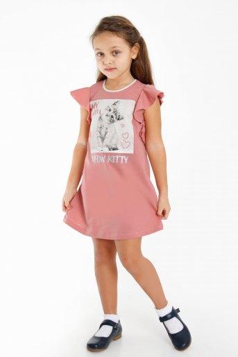 Платье Гаяне детское (N) (Сухая роза) - Злата