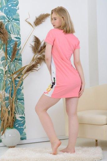 Туника 25530 (N) (Розовый) (Фото 2)