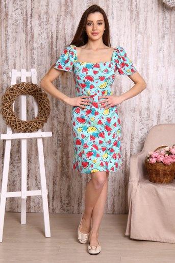 Платье 10546 (N) (Арбузы) - Злата