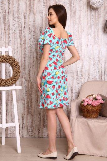 Платье 10546 (N) (Арбузы) (Фото 2)