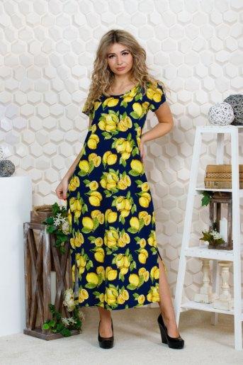 """643 Платье """"лимоны"""" (ST) - Злата"""